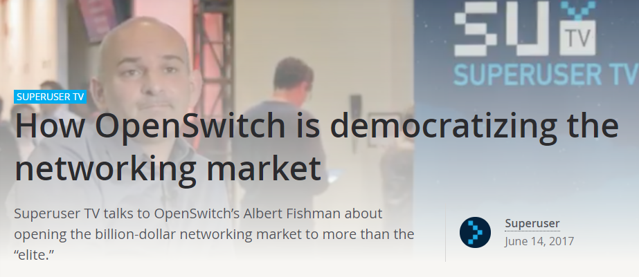 How OpenSwitch is democratizing the networking market